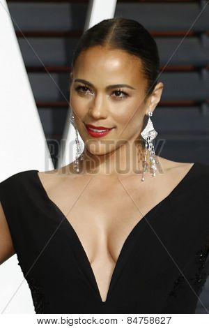 LOS ANGELES - FEB 22:  Paula Patton at the Vanity Fair Oscar Party 2015 at the Wallis Annenberg Center for the Performing Arts on February 22, 2015 in Beverly Hills, CA