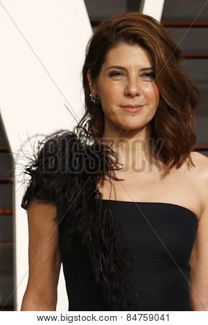 LOS ANGELES - FEB 22:  Marisa Tomei at the Vanity Fair Oscar Party 2015 at the Wallis Annenberg Center for the Performing Arts on February 22, 2015 in Beverly Hills, CA
