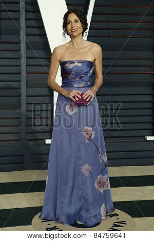 LOS ANGELES - FEB 22:  Minnie Driver at the Vanity Fair Oscar Party 2015 at the Wallis Annenberg Center for the Performing Arts on February 22, 2015 in Beverly Hills, CA