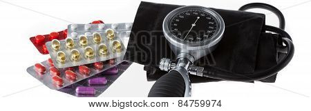 Medicament And Pressure Gauge