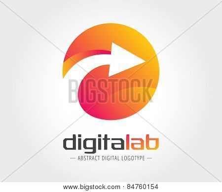 Abstract logo template for branding and design