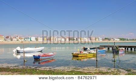 Caorle,adriatic Sea,Venetian Riviera,Italy