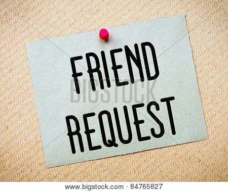 Friend Request Message