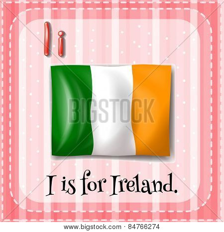 Letter I is for Ireland