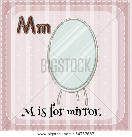 Alphabet M is for mirror
