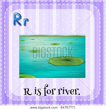 R is for river
