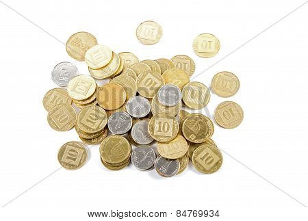 Coins Of Different Denominations .