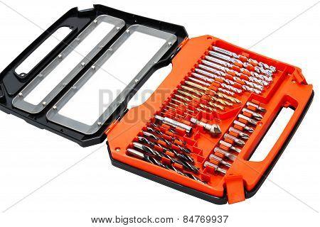 Box Set Of Drill Bit