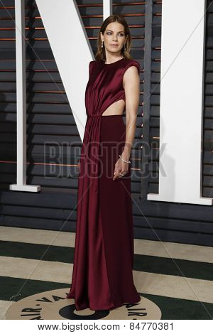 LOS ANGELES - FEB 22:  Michelle Monaghan at the Vanity Fair Oscar Party 2015 at the Wallis Annenberg Center for the Performing Arts on February 22, 2015 in Beverly Hills, CA