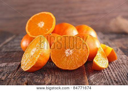 orange or clementine