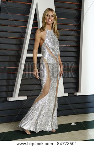 LOS ANGELES - FEB 22:  Heidi Klum at the Vanity Fair Oscar Party 2015 at the Wallis Annenberg Center for the Performing Arts on February 22, 2015 in Beverly Hills, CA