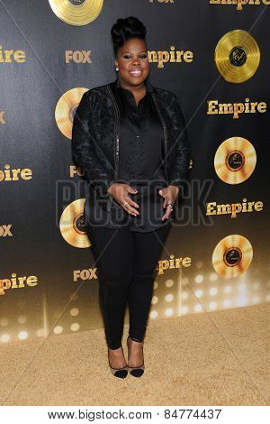 LOS ANGELES - JAN 06:  Amber Riley arrives to the
