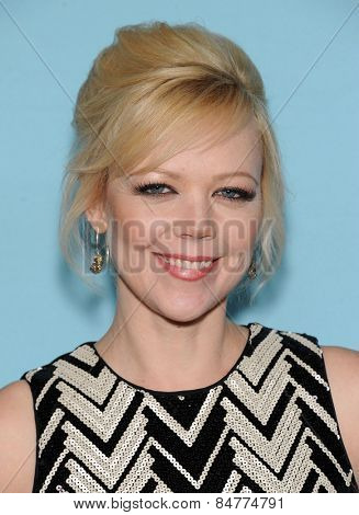 LOS ANGELES - JAN 05:  Emily Bergl arrives to the Showtime celebrates all-new seasons of Shameless, House of Lies and Episodes  on January 5, 2015 in West Hollywood, CA
