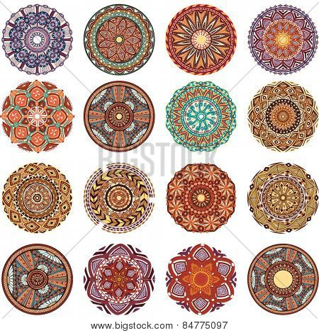 Round Ornament Pattern collection