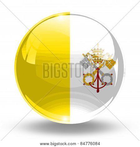 3D, crystal sphere Vatican