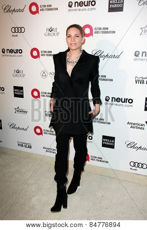 LOS ANGELES - FEB 22:  Skylar Grey at the Elton John Oscar Party 2015 at the City Of West Hollywood Park on February 22, 2015 in West Hollywood, CA