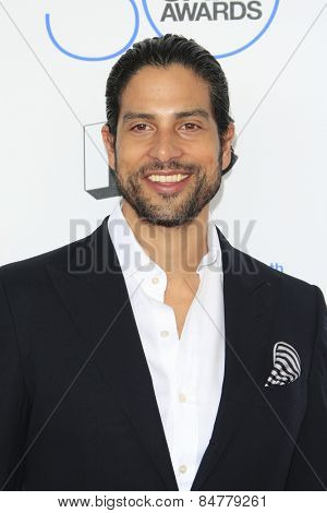SANTA MONICA - FEB 21: Adam Rodriguez at the 2015 Film Independent Spirit Awards on February 21, 2015 in Santa Monica, California