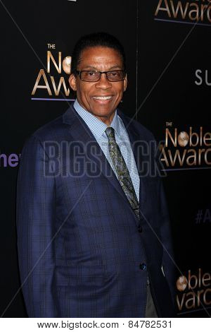 LOS ANGELES - FEB 27:  Herbie Hancock at the Noble Awards at the Beverly Hilton Hotel on February 27, 2015 in Beverly Hills, CA