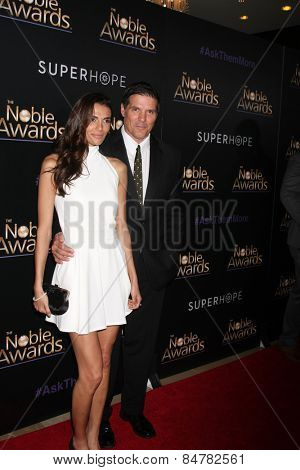LOS ANGELES - FEB 27:  Paul Johansson at the Noble Awards at the Beverly Hilton Hotel on February 27, 2015 in Beverly Hills, CA
