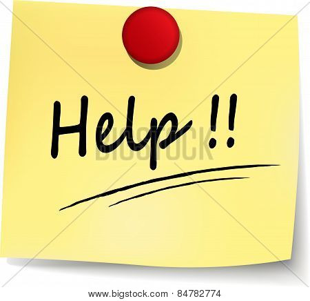 Help Yellow Note