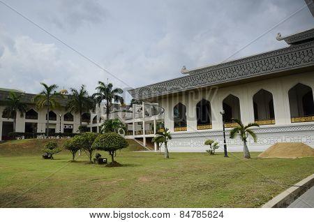 Al Azim Mosque in Malacca, Malaysia