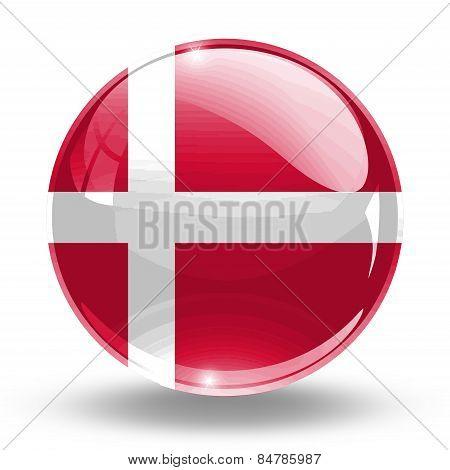 3D, crystal sphere Denmark