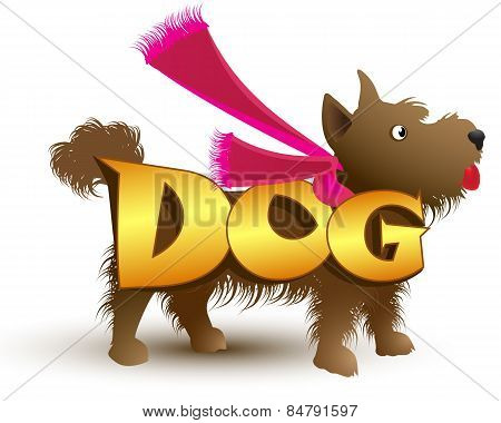 Logo template, dog