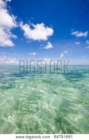 Small breeze of the Indian Ocean, Kuramathi island