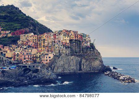 Cinque Terre, Manarola - Italy