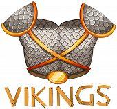 stock photo of viking  - viking shield - JPG