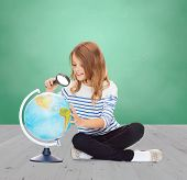 stock photo of geography  - education - JPG