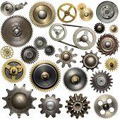 stock photo of gear  - Metal gear - JPG
