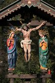 foto of crucifixion  - the crucifixion on friday before easter of jesus christ - JPG