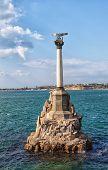 pic of sevastopol  - Monument to the flooded ships in Sevastopol Crimea - JPG
