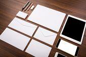stock photo of letterhead  - Blank Template - JPG