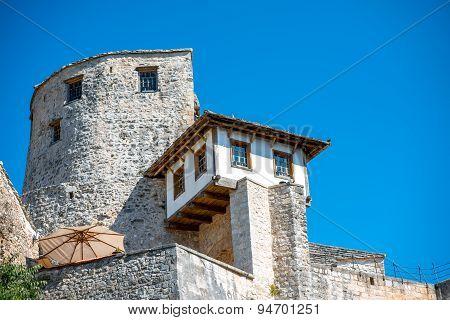 War museum in Mostar city