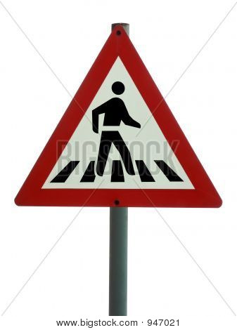Road Sign - Pedestrian Crossing