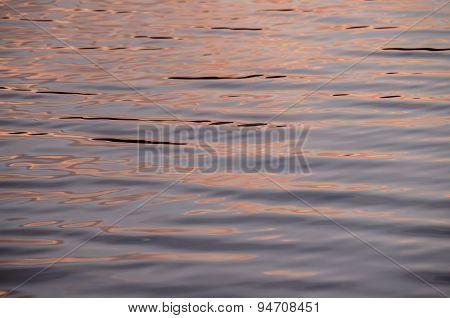 Sunset Water Texture