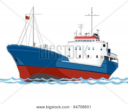 Ship Of Trawler