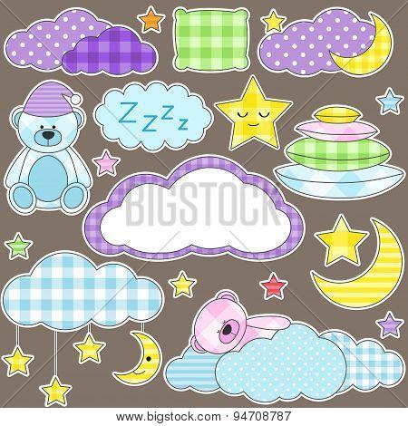 Night Stickers