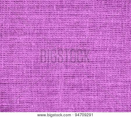 Deep mauve burlap texture background