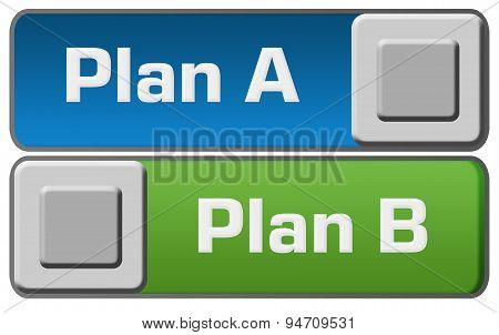 Plan A B Blue Green Switches