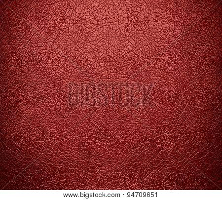 Deep chestnut leather texture background