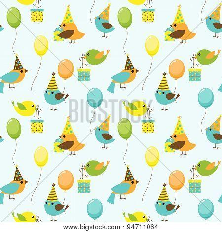 Party Birds Pattern
