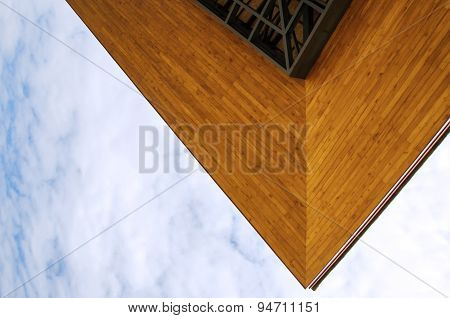 Wooden Eaves Of The Building