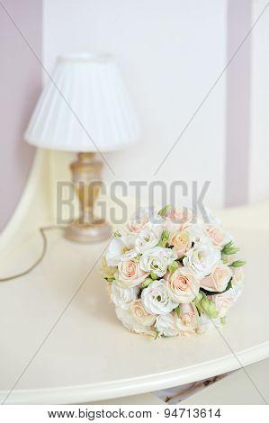 Bride's wedding bouquet