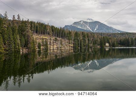 Mountain Lake in Slovakia Tatra