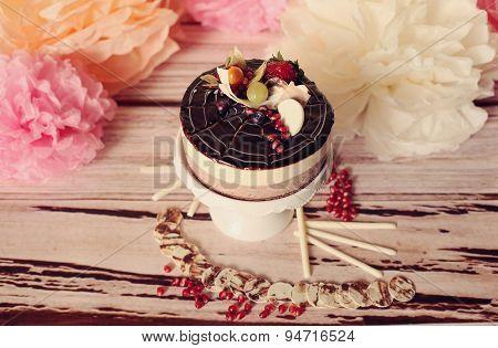 Gourmet Wedding Chocolate Cake