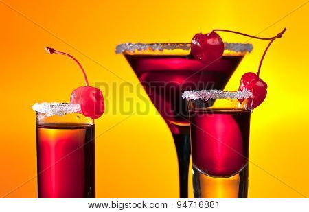 Alcoholic Drinks With Cherries