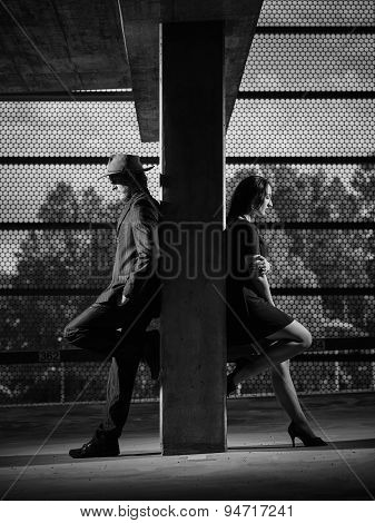 Relationship, Man And Woman, Urban Theme